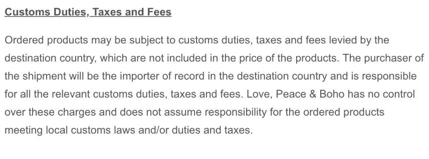关税及费率