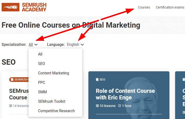 semrush内容营销工具包认证课程